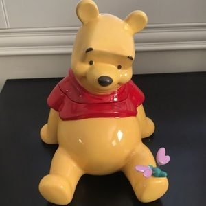 Disney's Winnie the Pooh Ceramic Cookie Jar